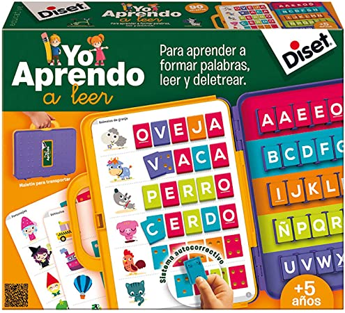 Diset - Yo aprendo a leer, (ref. 63715): Amazon.es: Juguetes y juegos