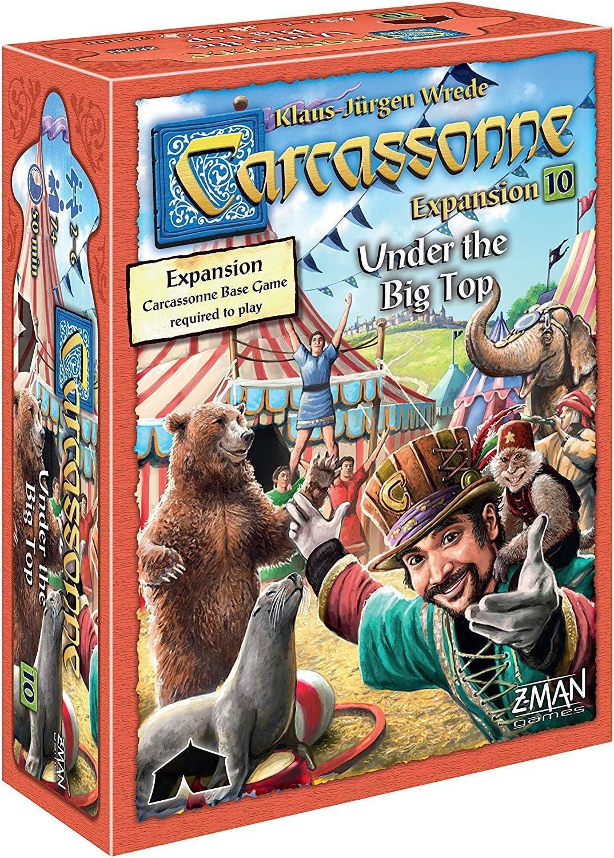 Carcassonne Under the Big Top Expansion 10: Amazon.es: Juguetes y ...