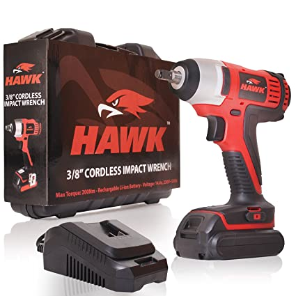 """HAWK TOOLS 1//2/"""" ELECTRIC IMPACT SOCKET WRENCH HIGH POWER BUZZ DRIVER SET"""