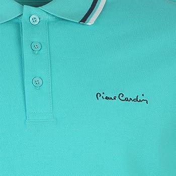 Pierre Cardin Polo para Hombre Azul Turquesa M: Amazon.es: Ropa y ...