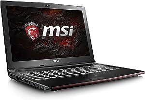 "MSI GP62MVR Leopard Pro-406 15.6"" Performance Gaming Laptop Core i7-7700HQ GTX 1060 16GB 256GB SSD VR Ready"