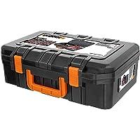 Worx WA0071 Gereedschapskoffer Van Robuuste Kunststof, Voor Het Veilig Opbergen Van Alle Gereedschappen En Accessoires…