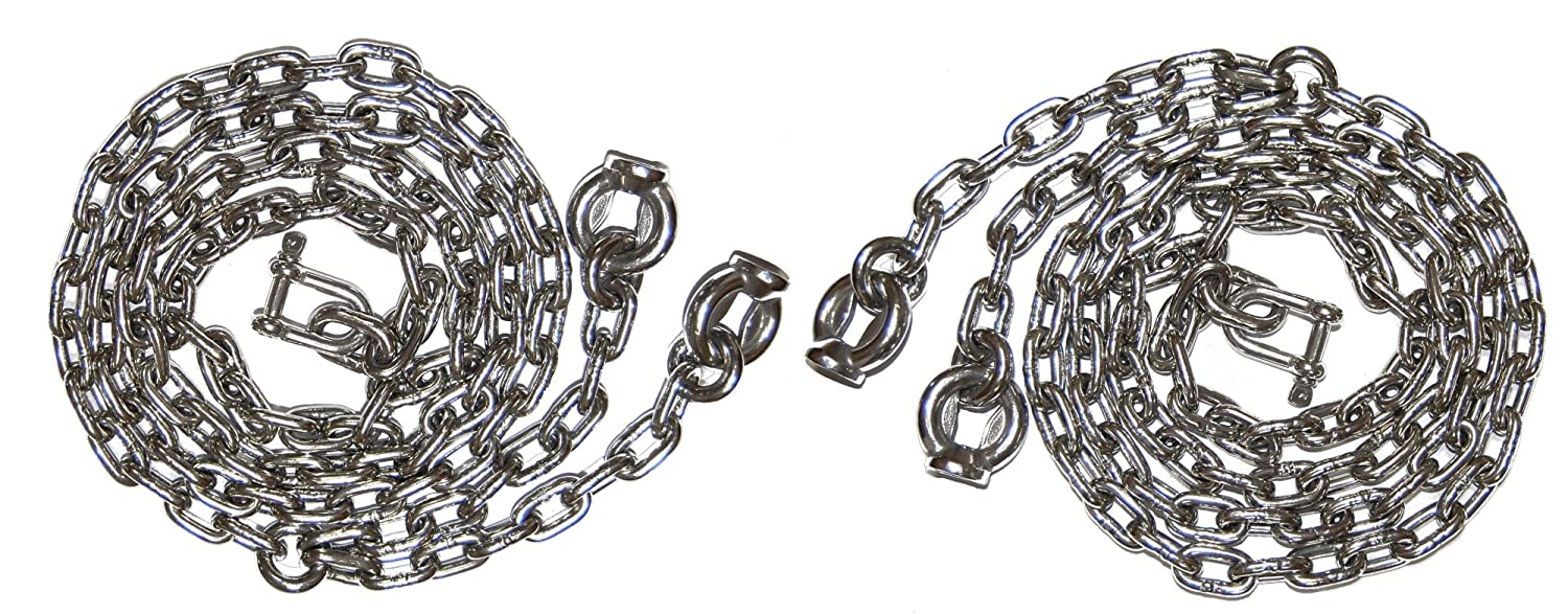 OTITU JUST FUN A set of stainless steel chains 6mm – 2m