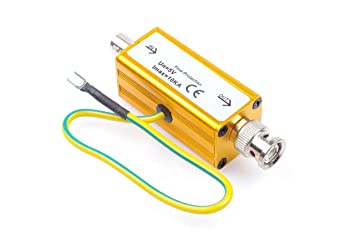 Coaxial Cable Surge Protector , Lightning Arrester , BNC Lightning Protection Device for Coaxial Communication ,