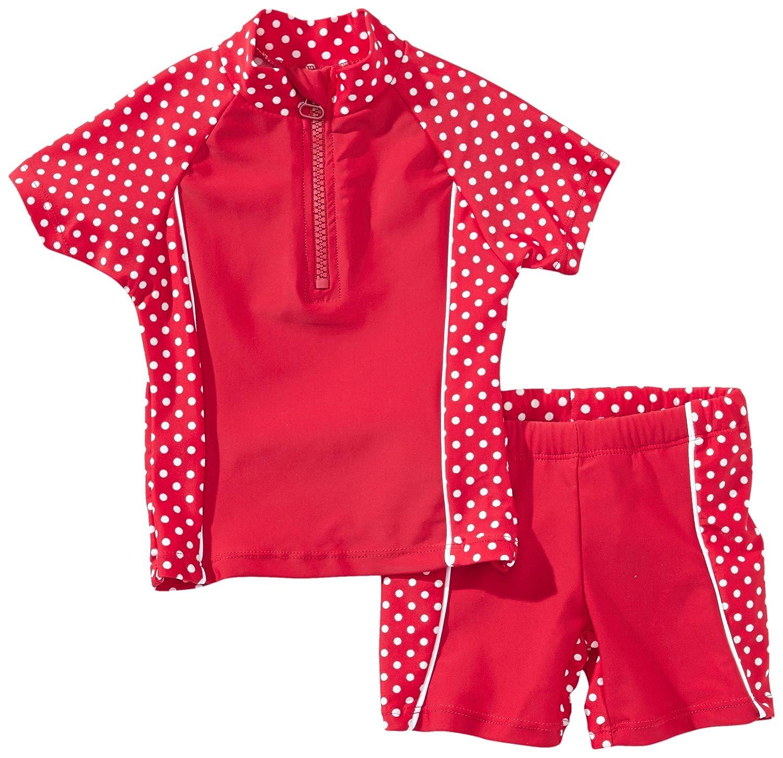Playshoes - Costume da bagno, Bambina Playshoes GmbH 461032 2 tlg. Bade-Set
