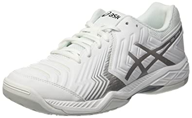 purchase cheap 5c89d 7d8c9 ASICS Gel-Game 6, Chaussures de Tennis Homme, Blanc (White Silver
