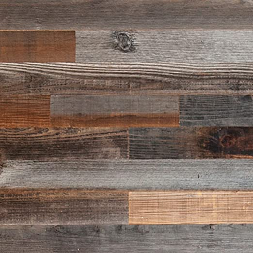Amazon Com Plank And Mill Reclaimed Barn Wood Wall Panels Simple Peel And Stick Planks For Accent Walls Kitchens And Other Projects 10 Square Feet Of 3 Wide Classic Barn