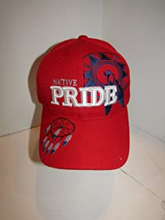 Native American Native Pride Dream Catcher Shadow Indian Red Ball Cap Hat 0380f762d6df