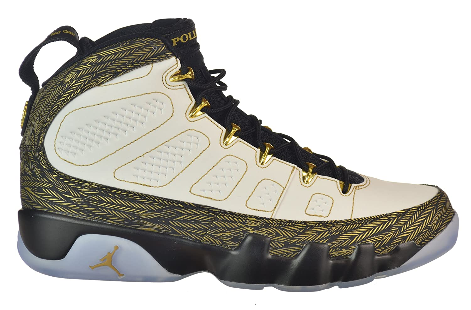 69223ae3ee7 Amazon.com | Jordan Air 9 Retro DB Doernbecher White/Gold/Black | Fashion  Sneakers