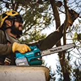 """Makita XCU09Z Lithium-Ion Brushless Cordless 18V X2 (36V) LXT 16"""" Top Handle Chain Saw, Tool Only, Teal"""