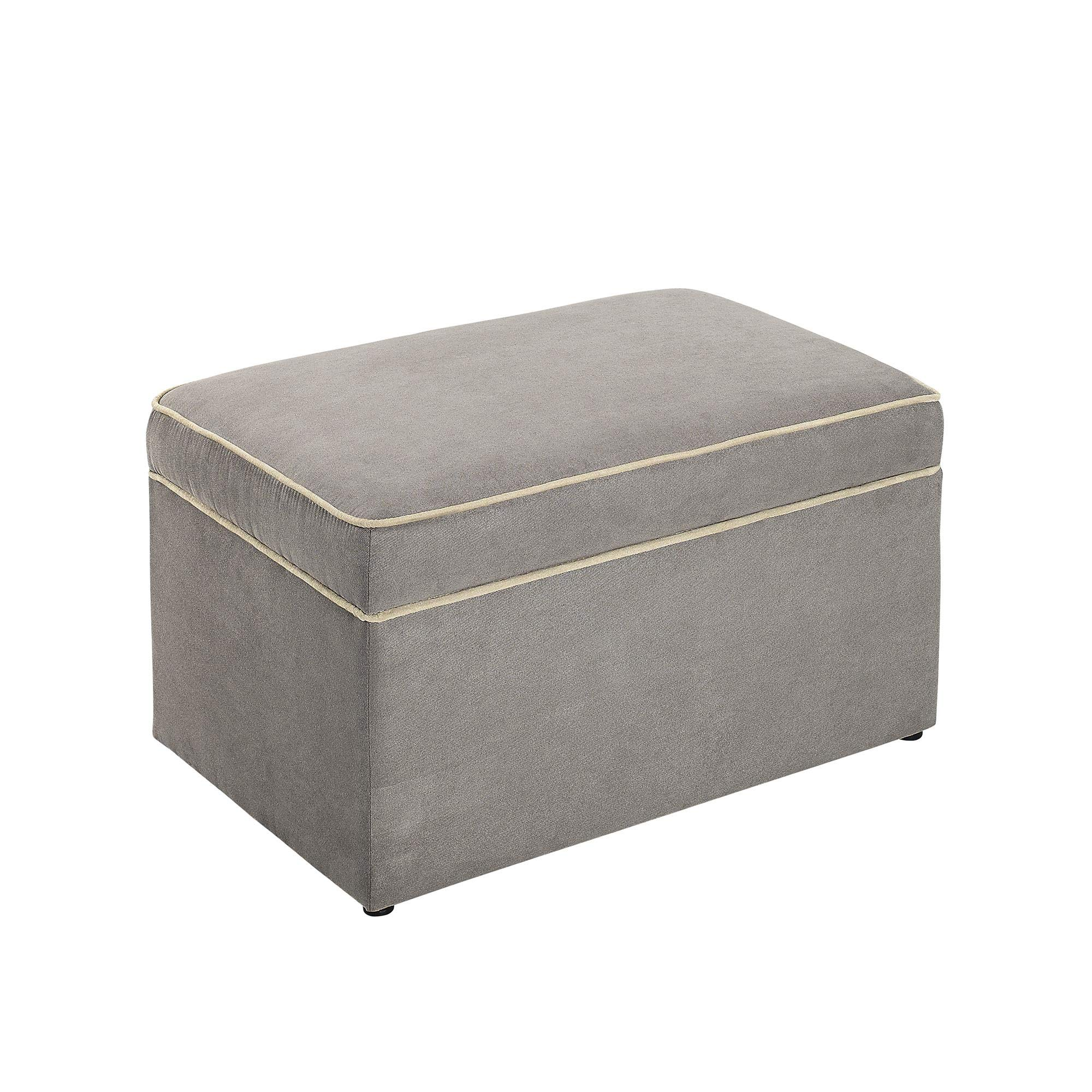 Baby Relax Hadley Nursery Storage Ottoman for Baby Gliders, Dark Taupe Dark Taupe by Baby Relax