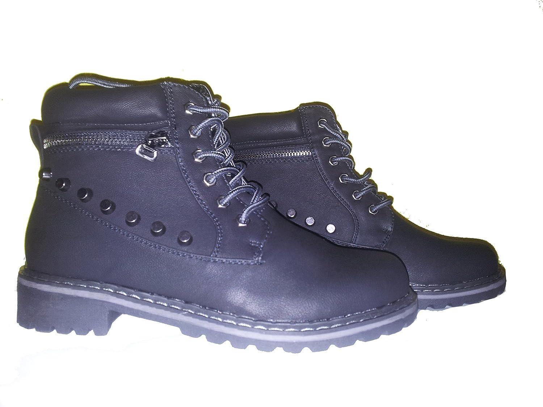 3-W-Hohenlimburg , Chaussures de randonnée Montantes pour Femme Noir