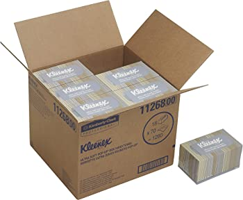 18-Boxes of Kleenex Ultra Soft and Absorbent Hand Towels