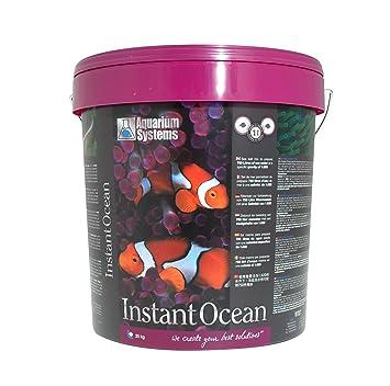 Acuario Systems 1010006 Acuarios Sal Marina Instant Ocean, 25 kg: Amazon.es: Productos para mascotas