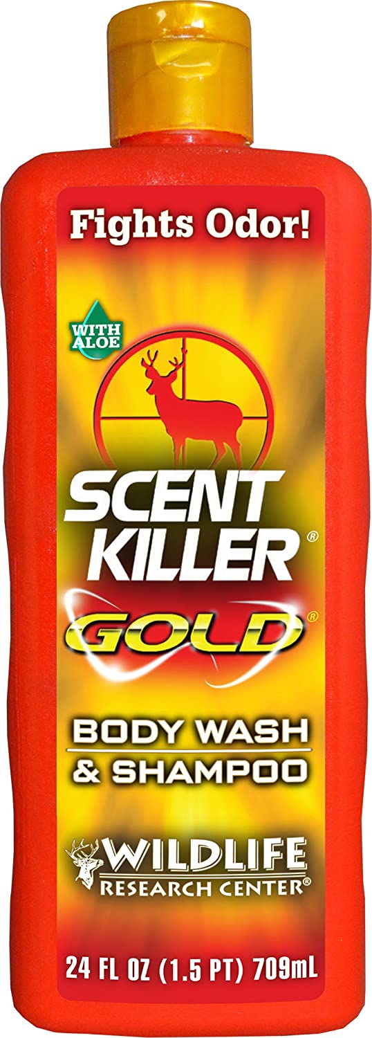 Wildlife Research Center Scent Killer Gold Scent Elimination Body Wash and Shampoo 1241