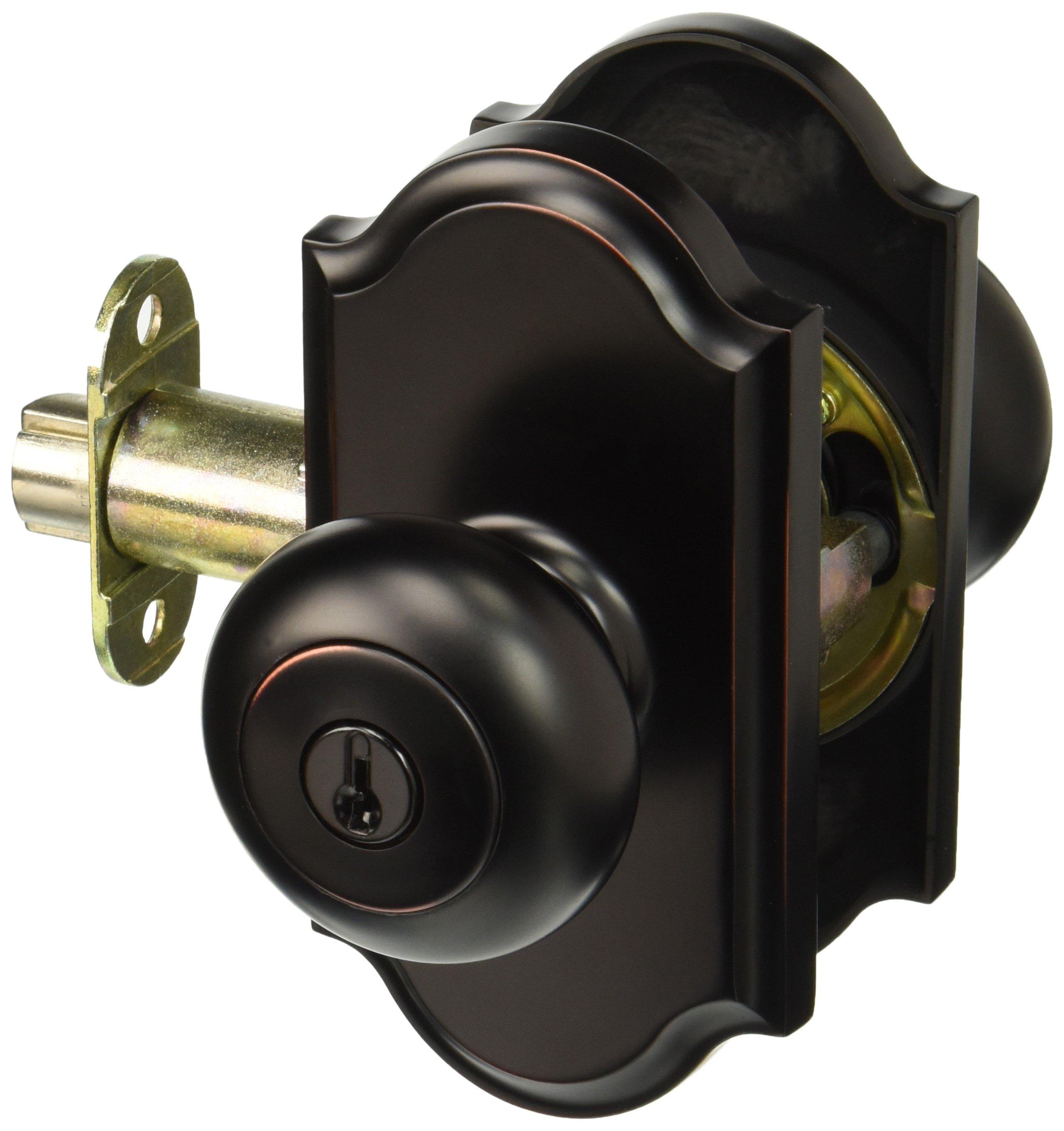 Weslock 01740I1I1SL23 Impresa Knob, Oil-Rubbed Bronze