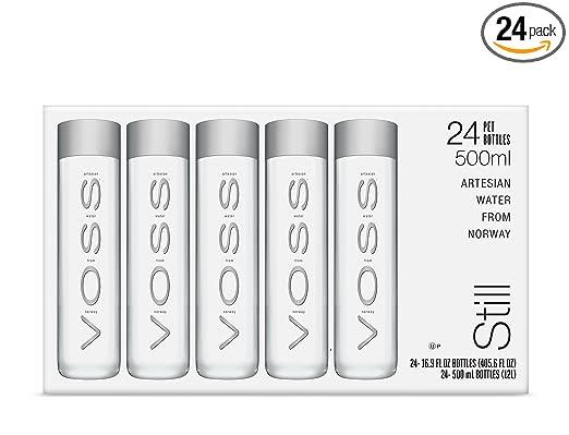 Voss Artesian Still Water 500 Ml Plastic Bottles Pack Of 24