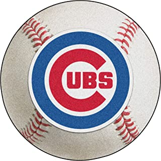 product image for FANMATS MLB Chicago Cubs Nylon Face Baseball Rug