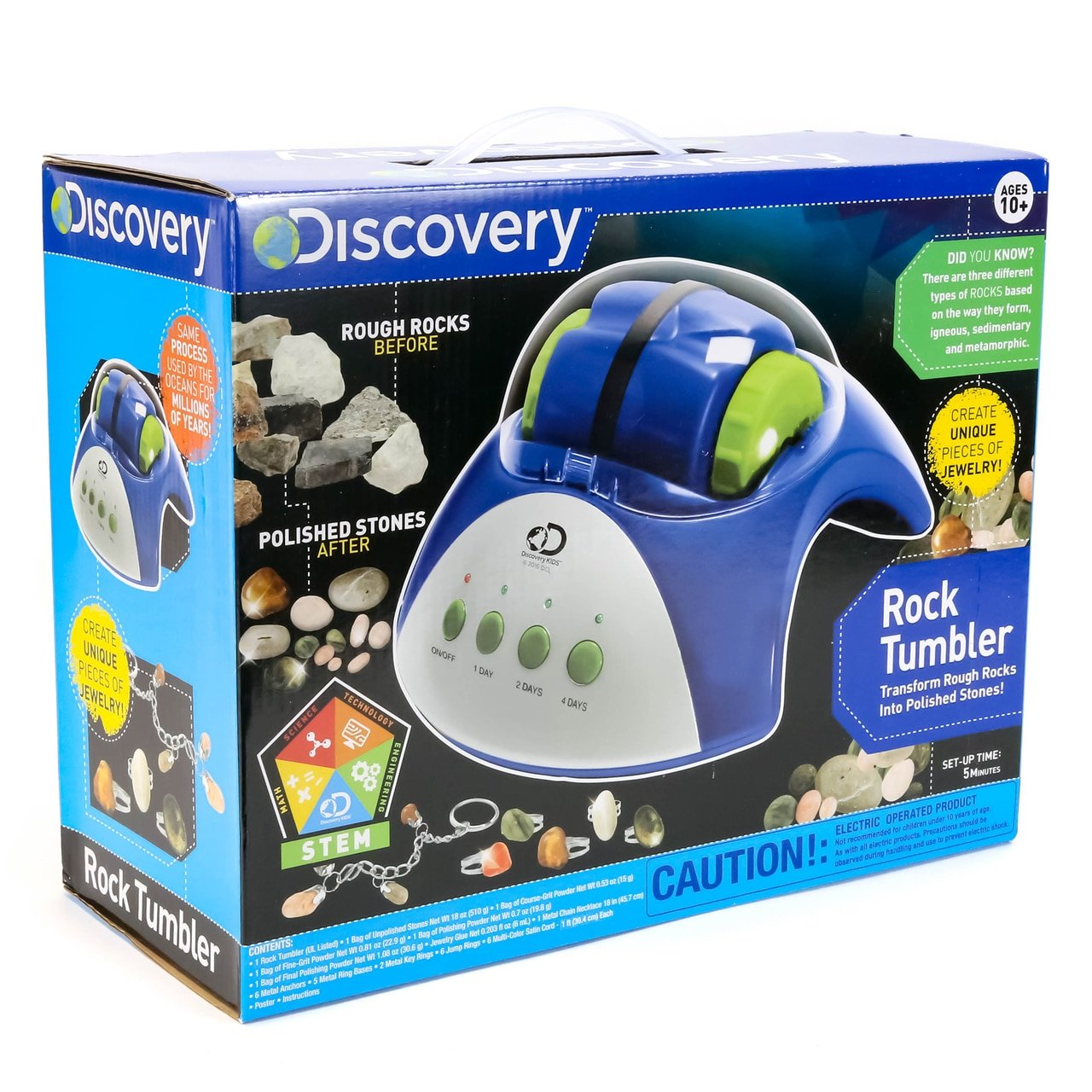Amazon Discovery Rock Tumbler Toys Games