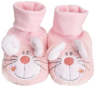 2e027b15c561f Padders Baby-Girl Mouse Socktop BG Booties
