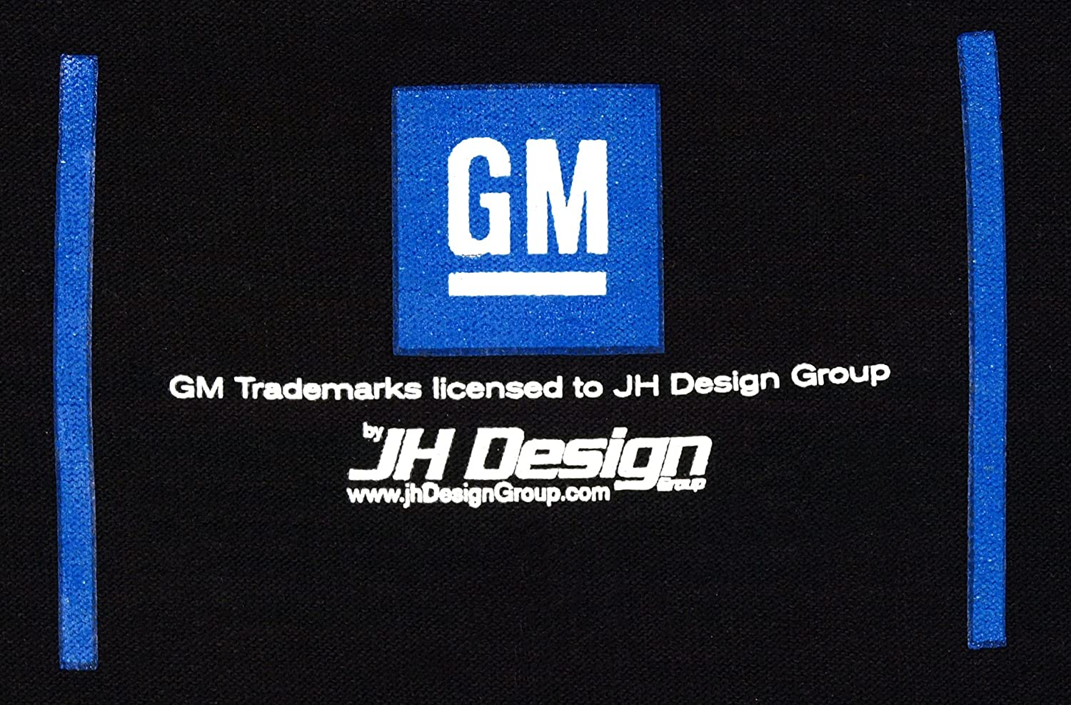 JH DESIGN GROUP Mens Chevy Corvette C7 Black Crew Neck T-Shirts in 2 Styles