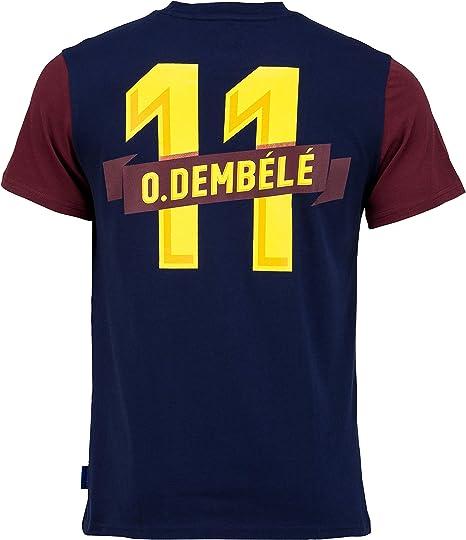 Fc Barcelone Camiseta de algodón Barça - DEMBELE - Colección ...