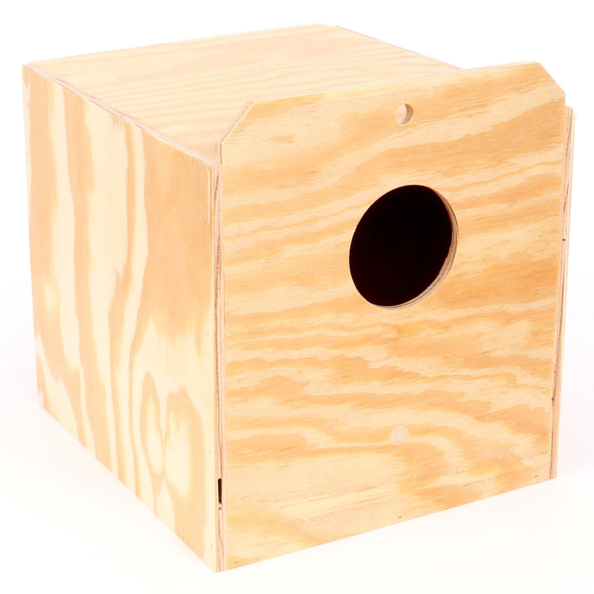 Ware Manufacturing Wood Cockatiel Reverse Nest Box, Tiel by Ware Manufacturing