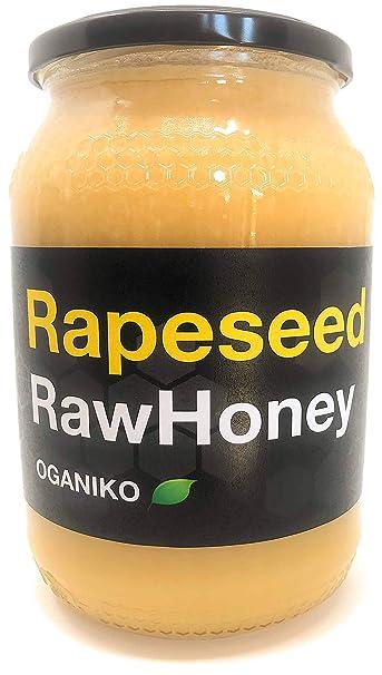 Raw miel - unpasteurised, en estado natural, filtros, cremosa Raw ...