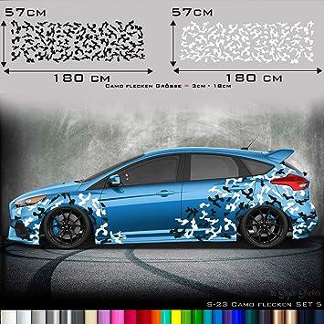 Seitenaufkleber Auto Tarn Look Camo Aufkleber Camouflage Sticker