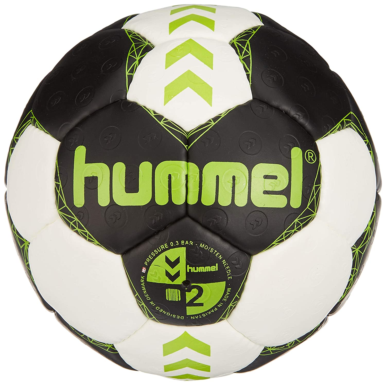 hummel Niños Court de Balonmano, Asfalto/Green Lime, 1: Amazon.es ...