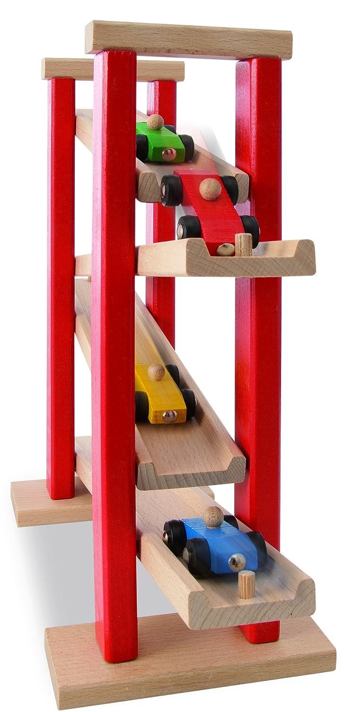 HEROS 100027332 - Circuito de madera para coches de juguete (38 x 31 cm): Amazon.es: Juguetes y juegos