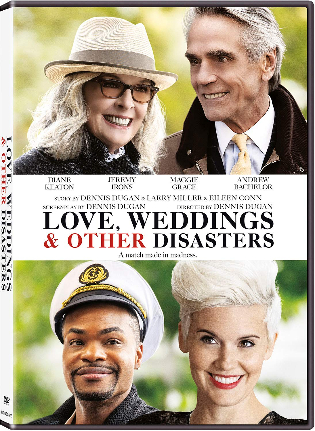 Book Cover: Love, weddings & other disasters