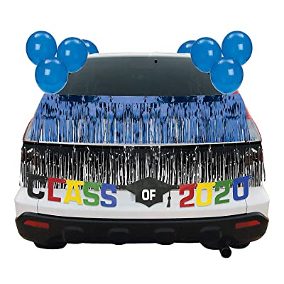 Blue Graduation Car Parade Decorating Kit - Party Decor - 30 Pieces: Health & Personal Care