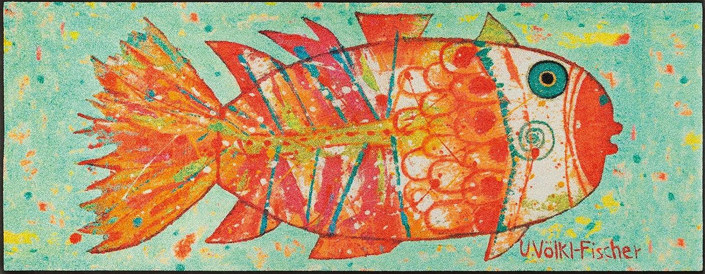Wash+dry Matte, Polyamide, Mehrfarbig, 75 x 190 cm