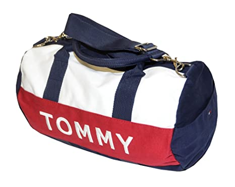 Tommy Hilfiger Mini Harbor Point Duffle Bag (One size, Navy white red)   Amazon.ca  Luggage   Bags cb894670f1