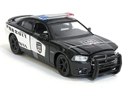 Dodge Charger Pursuit >> New Ray Dodge Charger Pursuit Diecast Police Car 1 24 Scale