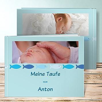 Fotobuch Taufe Online Guppy 60 Seiten Hardcover 290x222 Mm