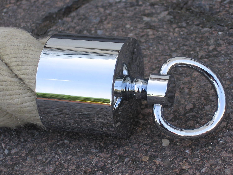 Acero inoxidable CL/ÁSICO Pendientes de aro 5/mm//18/mm/ø marr/ón caf/é kaffeegold Mate Pendientes de Kikuchi