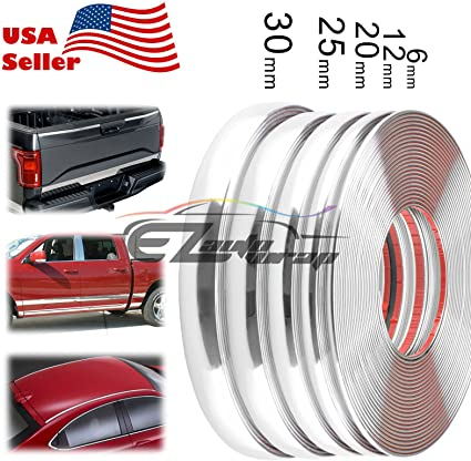 Truck 3M Door Trim Edge Guard 6 Ft Body Strip Chrome Moulding MADE IN USA Car