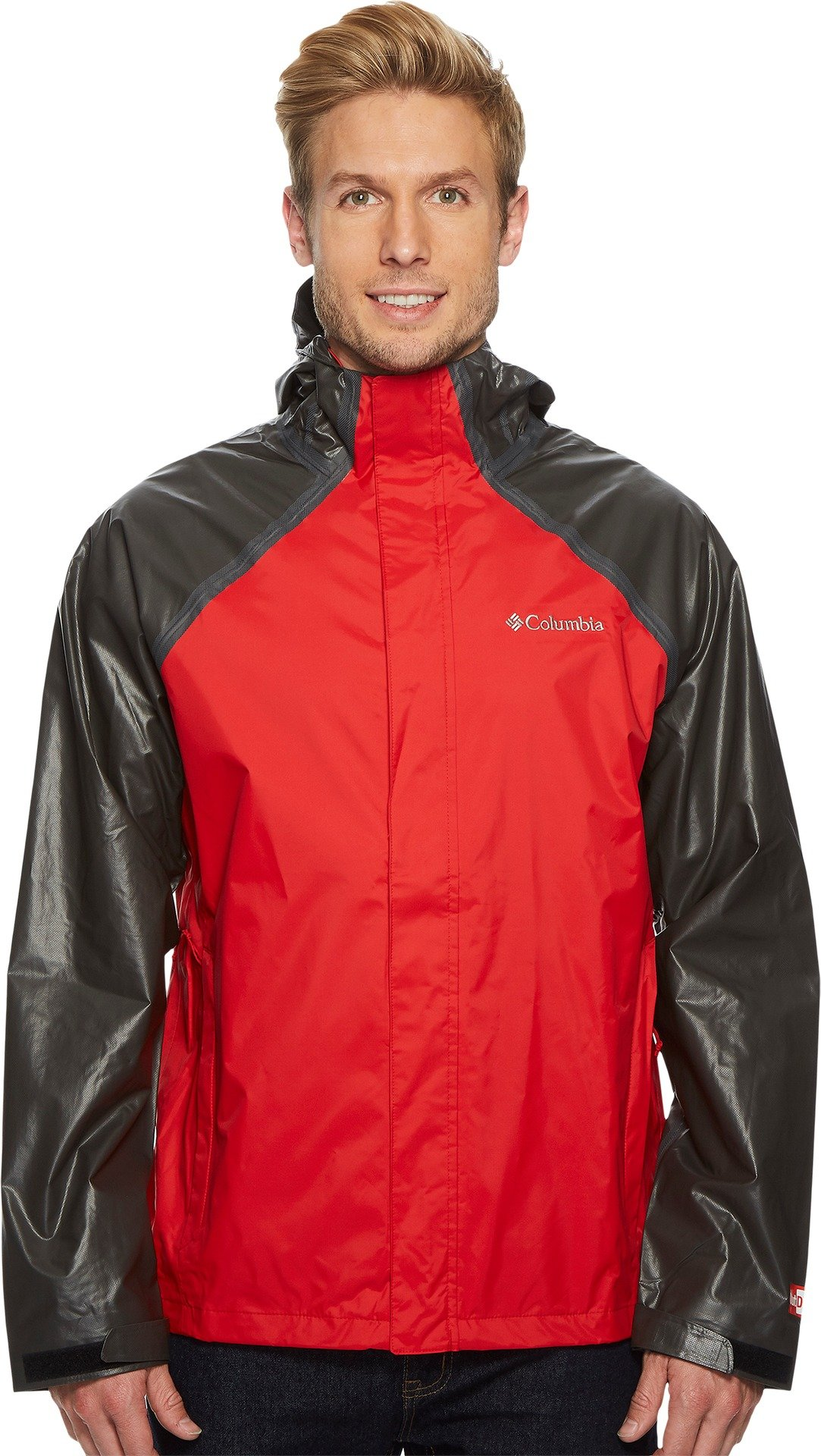 Columbia Men's Outdry Hybrid Jacket Red Spark/Black Medium by Columbia