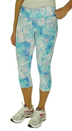 b7f2ba0d54f56 Ideology Women's Printed Athletic Capri Leggings at Amazon Women's ...