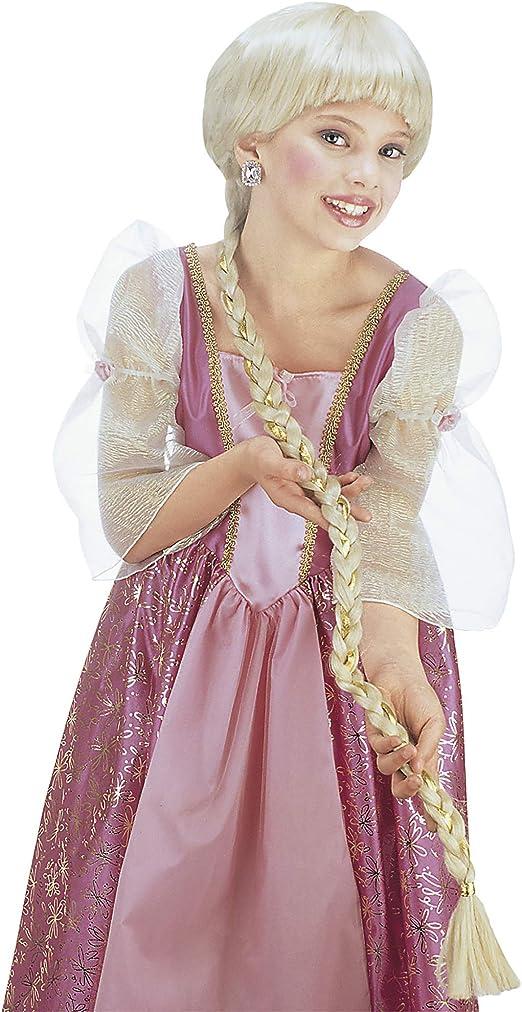 Ladies Extra Long Blonde Rapunzel Fancy Dress Wig