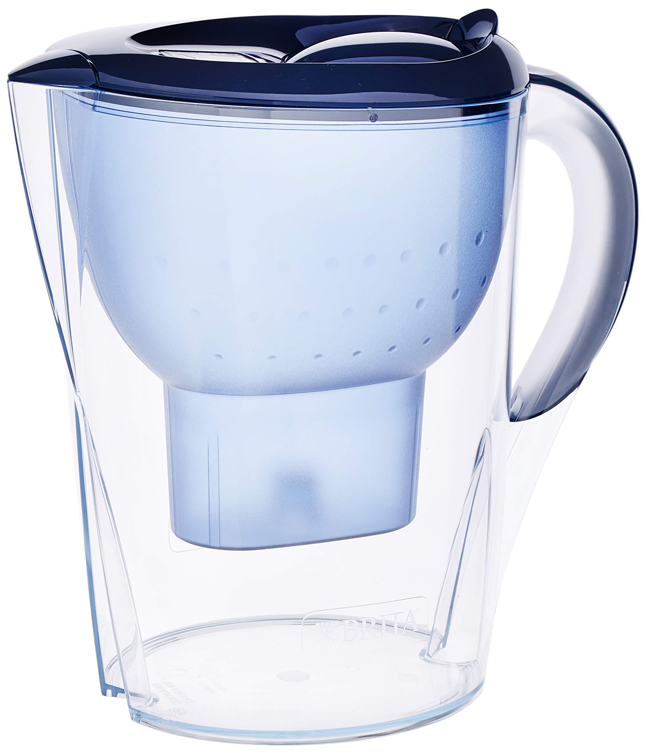 Brita Marella Xl Jarra de Agua Filtrada con 1 Cartucho Maxtra +, Filtro de Agua