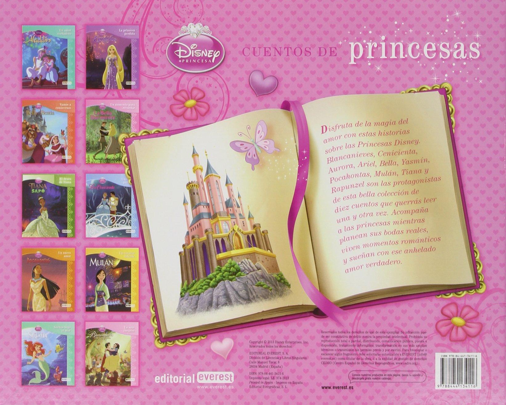 Princesas Disney. Cuentos De Princesas Libros singulares: Amazon.es: Walt Disney Company, Walt Disney Company, Alonso Mendoza Liwayway, García Romeu Pilar, Chaves Sanz Yolanda: Libros