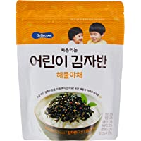BeBecook My First Sun-Dried Seaweed Mix, Seafood & Vegetable, 25g