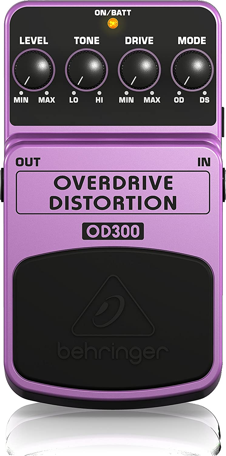 Behringer Overdrive OD300 Distortion Pedal Review