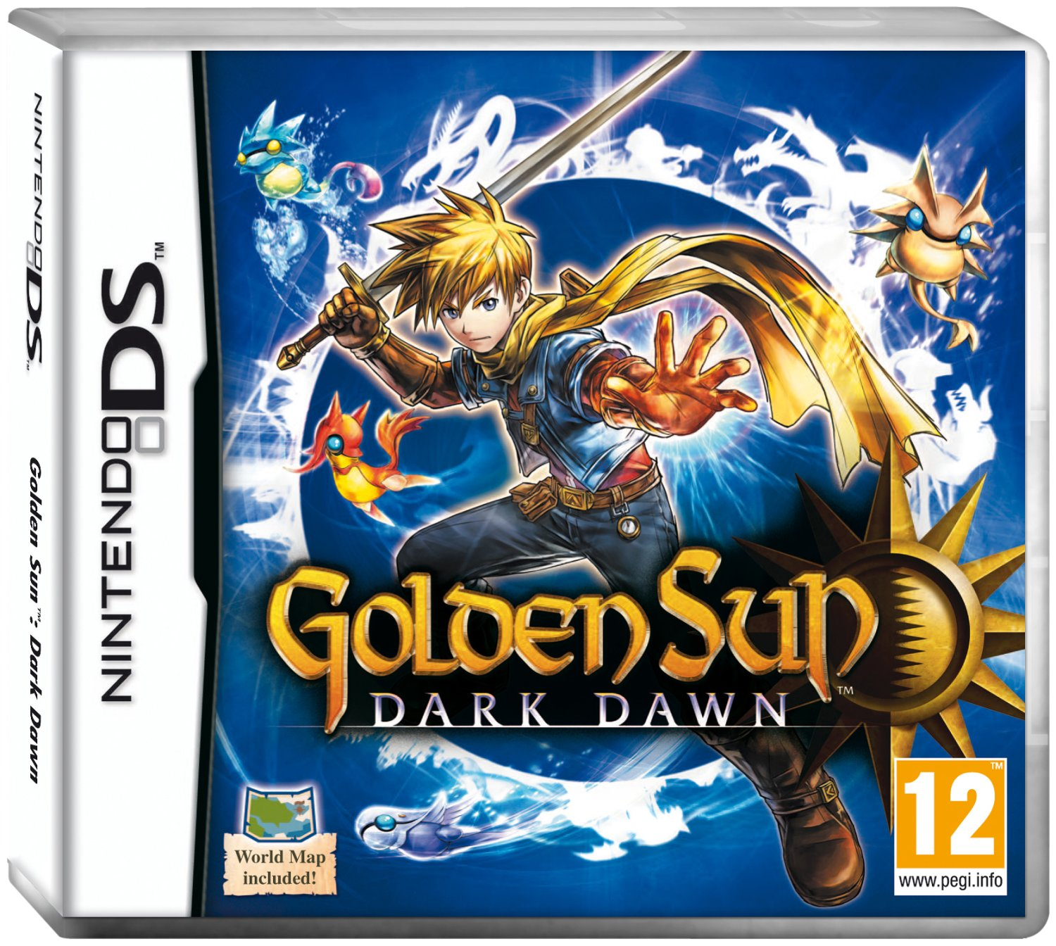 Golden Sun: Dark Dawn (Nintendo DS): Nintendo Ds: Amazon.co.uk: PC ...