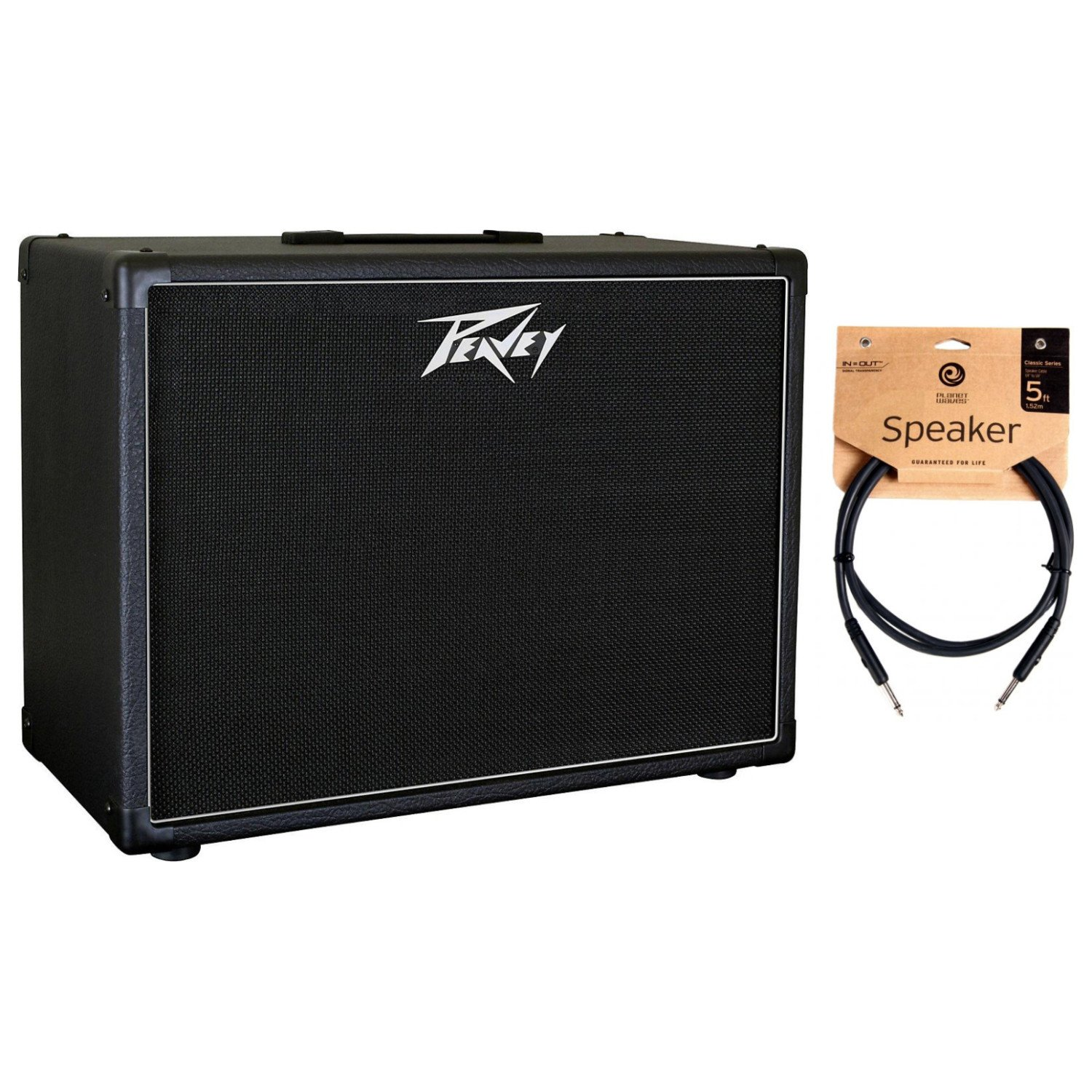 Peavey 112-6 Guitar Enclosure for 6505 Mini Head w/ Speaker Cable by Peavey