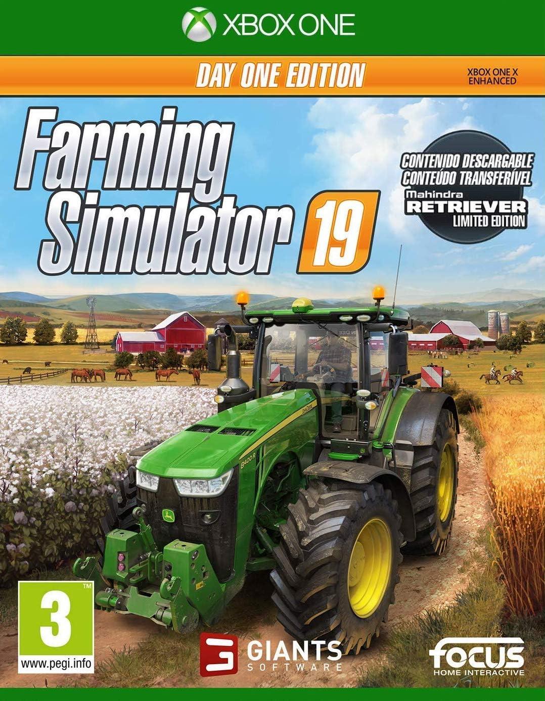 Farming Simulator 19 Day One Edition (Xbox One): Amazon.es: Videojuegos