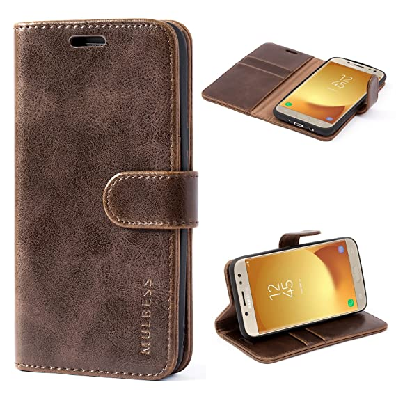 low priced f946d 2e8cc Galaxy J5 Prime Case,Galaxy On5 2016 Case,Mulbess Leather Case, Flip Folio  Book Case, Money Pouch Wallet Cover for Samsung Galaxy On5 2016/J5 ...